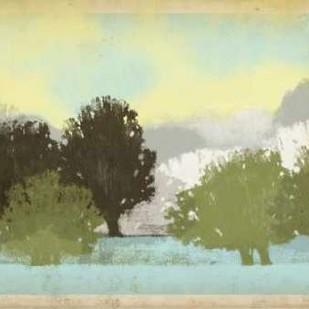 Serene Park I Digital Print by Vision Studio,Impressionism