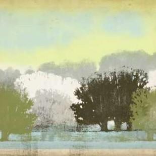 Serene Park II Digital Print by Vision Studio,Impressionism