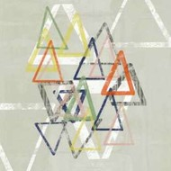 Stamped Triangles II Digital Print by Goldberger, Jennifer,Abstract