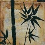 Patinaed Bamboo I Digital Print by Goldberger, Jennifer,Decorative