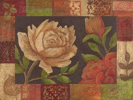 Floral Patchwork I Digital Print by Meagher, Megan,Decorative