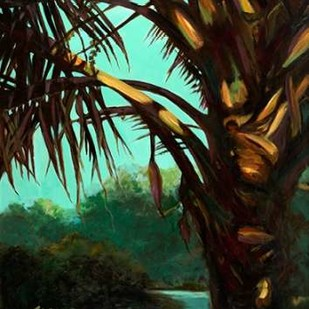 Dark Palm Digital Print by Wilkins, Suzanne,Decorative