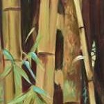 Bamboo Finale II Digital Print by Wilkins, Suzanne,Decorative