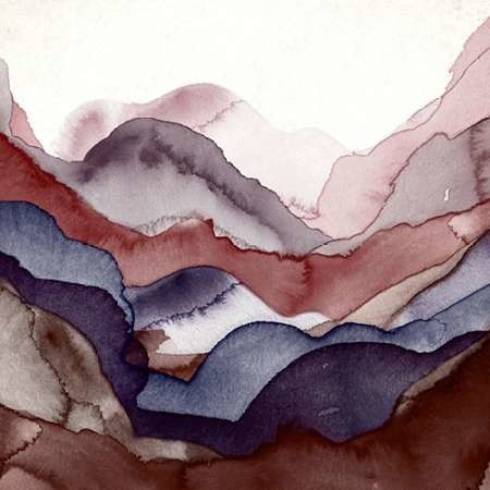 Rose Quartz A Digital Print by GIArtLab,Abstract