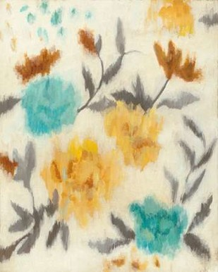 Cambridge Blooms I Digital Print by Meagher, Megan,Abstract