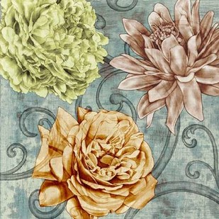 Flower Fetti II Digital Print by Goldberger, Jennifer,Decorative