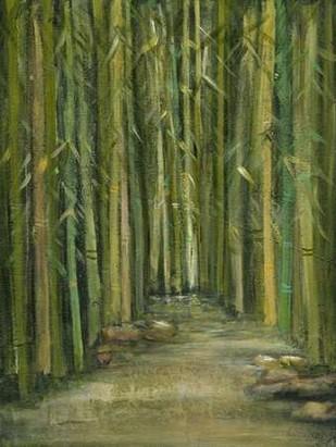 Bamboo Pond Digital Print by Crawford, Beverly,Impressionism