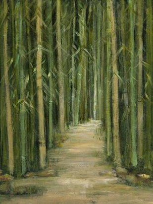 Bamboo Forest Digital Print by Crawford, Beverly,Impressionism