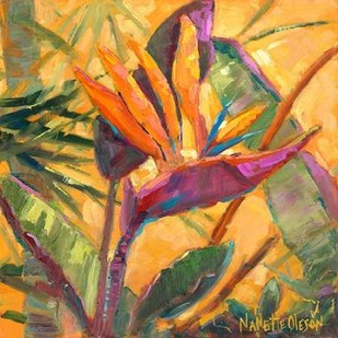 Splash Of The Tropics I Digital Print by Oleson, Nanette,Impressionism