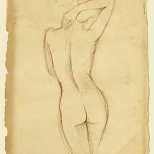 Antique Figure Study I Digital Print by Harper, Ethan,Decorative