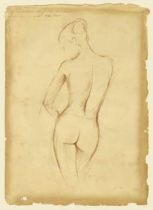 Antique Figure Study II Digital Print by Harper, Ethan,Illustration