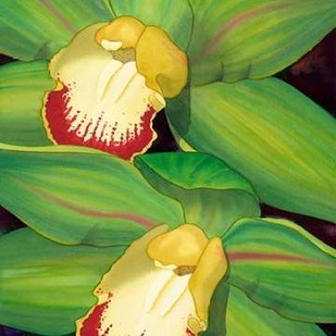 Lime Orchid I Digital Print by Higby, Jason,Decorative