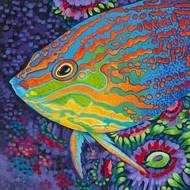 Brilliant Tropical Fish I Digital Print by Vitaletti, Carolee,Decorative