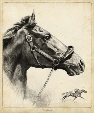 Whirlaway Digital Print by Palenske, R.H.,Illustration