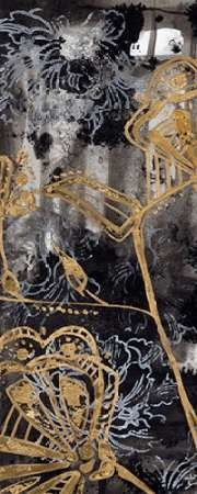Gilded Fleur I Digital Print by Goldberger, Jennifer,Decorative