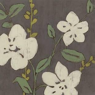 Cream Florals II Digital Print by Goldberger, Jennifer,Decorative