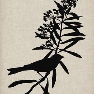 Audubon Silhouette I Digital Print by Vision Studio,Decorative