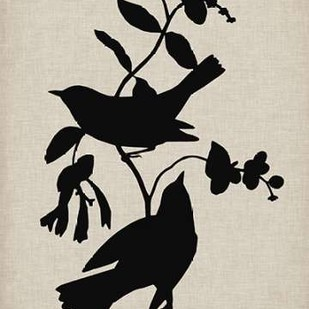 Audubon Silhouette IV Digital Print by Vision Studio,Decorative