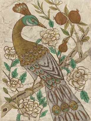 Chinoiserie Pheasant I Digital Print by Zarris, Chariklia,Decorative
