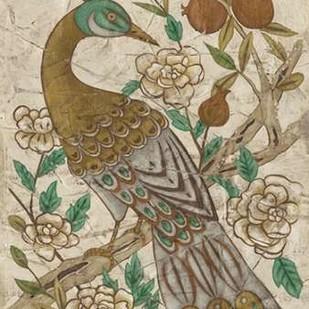 Chinoiserie Pheasant I Digital Print by Zarris, Chariklia,Decorative