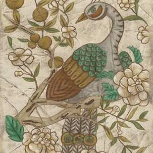 Chinoiserie Pheasant II Digital Print by Zarris, Chariklia,Decorative