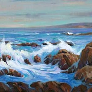 Seascape Faraway I Digital Print by O'Toole, Tim,Impressionism