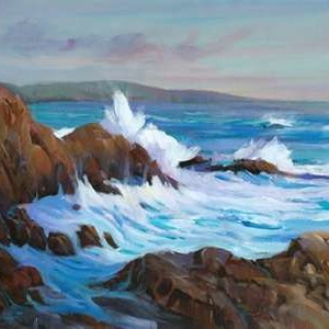 Seascape Faraway II Digital Print by O'Toole, Tim,Impressionism