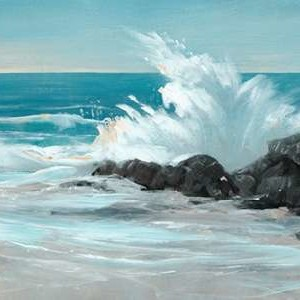 Crashing Wave I Digital Print by O'Toole, Tim,Impressionism