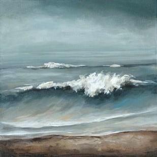 Sea Foam Digital Print by Long, Christina,Impressionism