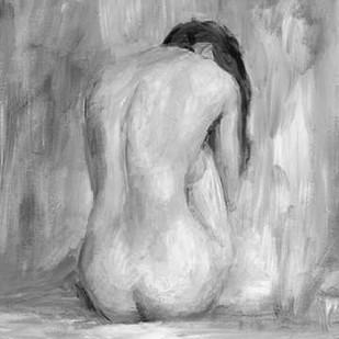 Figure in Black and White II Digital Print by Harper, Ethan,Impressionism