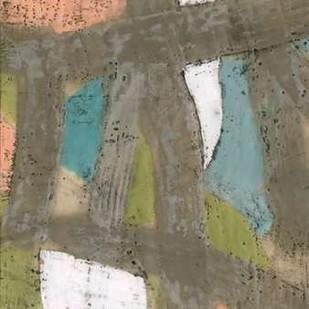 Bold Pastels II Digital Print by Goldberger, Jennifer,Abstract