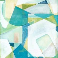 Overlay Abstract II Print By Meagher, Megan