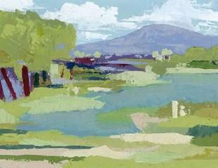 Pastel Marsh I Digital Print by Popp, Grace,Impressionism