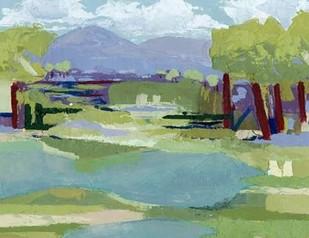 Pastel Marsh II Digital Print by Popp, Grace,Impressionism