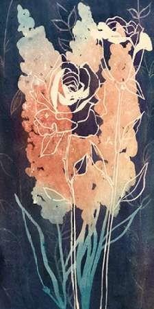 Flowers at Midnight II Digital Print by Popp, Grace,Impressionism