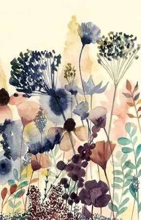 Sundry Blossoms II Digital Print by Popp, Grace,Impressionism