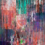Riser Panel II Digital Print by Burghardt, James,Abstract