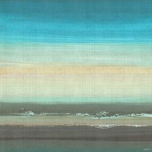 Beach Layers II Digital Print by Butler, John,Abstract