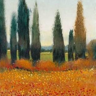 Cypress Trees I Digital Print by O'Toole, Tim,Impressionism