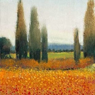 Cypress Trees II Digital Print by O'Toole, Tim,Impressionism