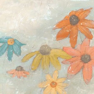 Floral Fresco I Digital Print by Vess, June Erica,Impressionism