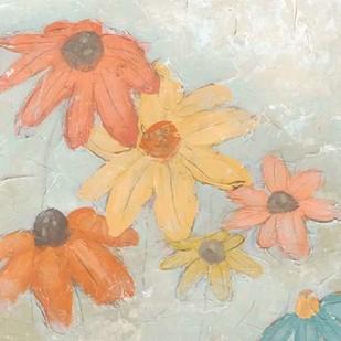 Floral Fresco II Digital Print by Vess, June Erica,Impressionism