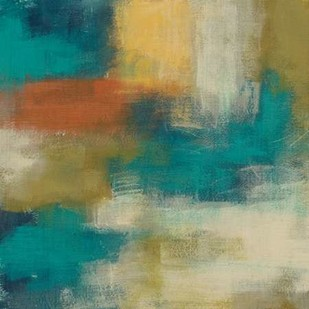 Blue Note II Digital Print by Vess, June Erica,Abstract