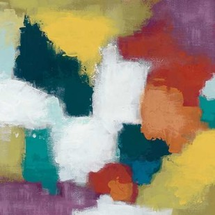 Color Cascade I Digital Print by Vess, June Erica,Abstract