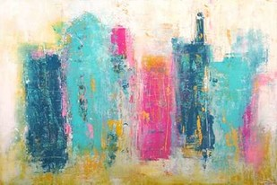 City Dreams Digital Print by Ashley, Erin,Abstract