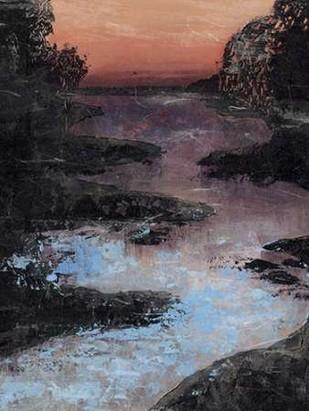 Twilight Canal II Digital Print by Popp, Grace,Impressionism