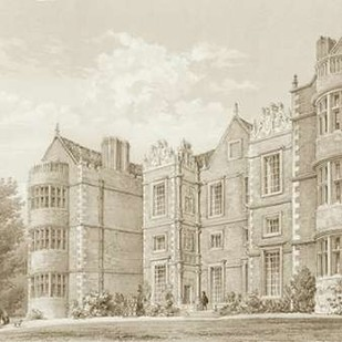 Burton Agnes Yorkshire Digital Print by Richardson,Decorative