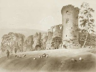 Bothwell Castle Digital Print by Harding, J.D.,Decorative