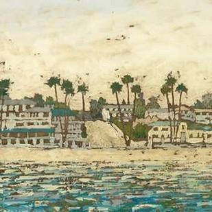 Beach Coast II Digital Print by Meagher, Megan,Impressionism