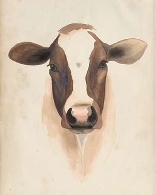 Watercolor Animal Study VII Digital Print by Popp, Grace,Impressionism
